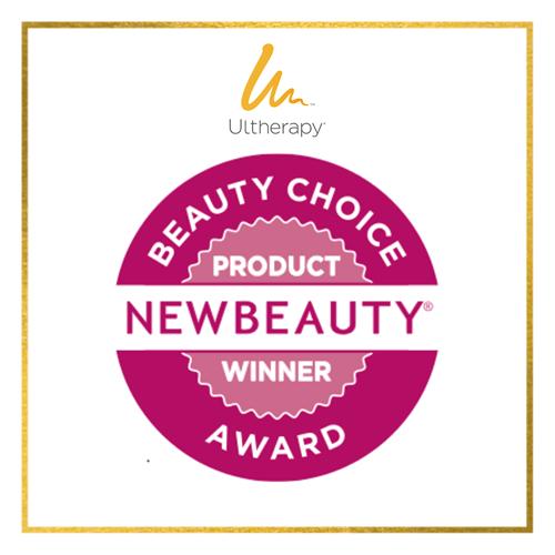 NEW BEAUTY Beauty Choice Award Product Winner Ultherapy