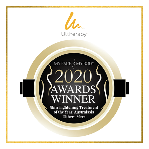My Face My Body 2020 Awards Winner Skin Tightening Treatment of the Year - Ultherapy