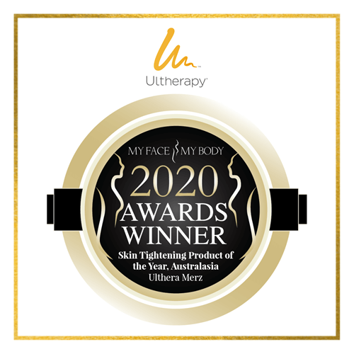 My Face My Body 2020 Awards Winner Skin Tightening Product of the Year - Ultherapy